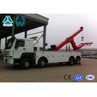 Wholesale SINOTRUK HOWO 6x4 Heavy Duty Wrecker Tow Truck For Car Accident from china suppliers
