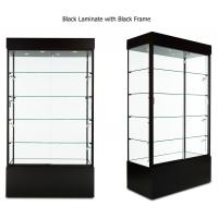 multi colored frame wood and glass display case lockable glass rh metalmachiningparts suppliers howtoaddlikebut