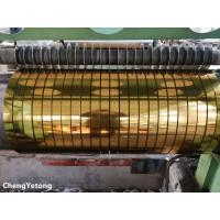 Wholesale Metallic Gloss Stainless Steel Slit Coil , Corrosion Resistance Stainless Steel Coil Stock from china suppliers