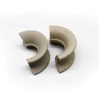 Wholesale Different Saddle Ring Random Ceramic Saddles Intalox Tower Packing from china suppliers