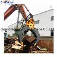Wholesale Grapple 360 Degree Rotation Hydraulic Grab Bucket for 15-40 Tons Excavator from china suppliers