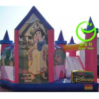 Wholesale 2016 hot sell  inflatable princess bouncy castle with 24months warranty from china suppliers