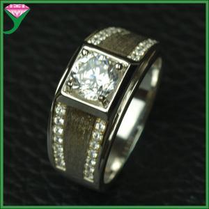 China wholesale price 925 silver china jewelry white cz diamond ring on sale