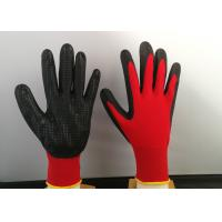 Wholesale Slip Proof Nitrile Coated Gloves Breathable Featuring Heat Transfer Printing Way from china suppliers