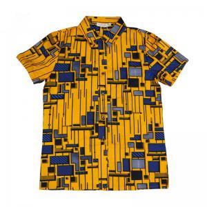 b5b96aa0d5f271 ... Quality Men African Print Tops , Short Sleeve Print Top Shirts Spring /  Summer / Autumn