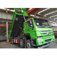 Wholesale 31 Tons Heavy Duty Dump Truck 8x4 336HP For Transport Sand / Stone / Coal from china suppliers