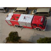 Wholesale Heavy Duty Foam Fire Truck Maximum Allowable Load 34000KG With Electric Steering Box from china suppliers