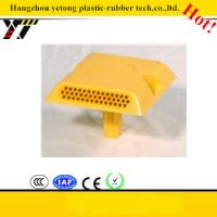 Glass beads plastic traffic marker with handle