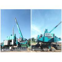 Wholesale Roadside Hydraulic Piling Machine 460T Piling Capacity No Air Pollution from china suppliers