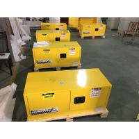 Buy cheap Steel Flammable Safety Cabinets With Double Doors For Hazardous Material Storage from wholesalers