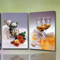 Wholesale high quality 3D Wedding Photo with frame lenticular printing photo-lady portrait painting 3d moving portrait photo from china suppliers
