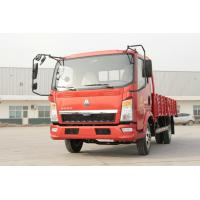 Wholesale Red HOWO Light Truck , Light Duty Commercial Trucks 4x2 5 Ton Capacity from china suppliers
