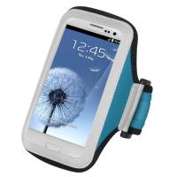 Wholesale Adjustable neoprene sport armband case with pu frosted for apple iphone 5 workout cover from china suppliers