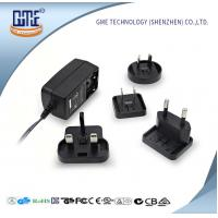 Wholesale Interchangeable Plug AC DC  Wall Adapter 24w Max Output With LED Light from china suppliers