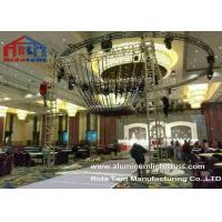 Wholesale Glass Finished Aluminum Stage Truss Outdoor For Weddings Party 80km / h from china suppliers