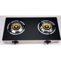 Wholesale Electric Ignition Table Top Gas Stove With Tempered Glass Panel from china suppliers