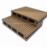 Wpc deck wood plastic composite material suitable for outdoor flooring of item 97670294 - Suitable materials for decking ...