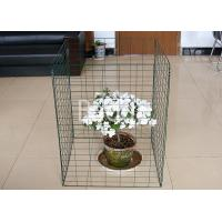 Wholesale Green Plastic Metal Wire Compost Container 450 Liter Easily Install 690X890mm from china suppliers