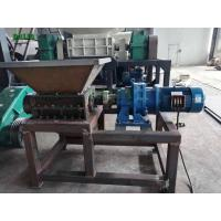 Wholesale Tire Single Shaft Portable Industrial Shredder Quiet Operation For Rubber Products from china suppliers