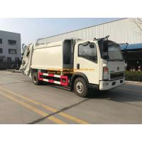 Wholesale 4x2 6 Tires Compressor Garbage Truck Of Sinotruk Howo7 8M3-10M3 from china suppliers
