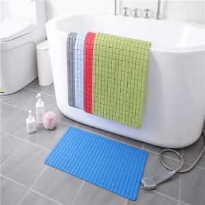Wholesale Waterproof 69x39cm Washable Bath Rugs PVC Bathtub Floor Mat from china suppliers