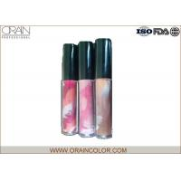 Wholesale Pretty Girl Moisturizing Cosmetics Lip Gloss in Painting Bottle for Lip makeup from china suppliers