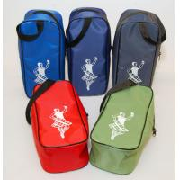 Wholesale Portable Red / green Gym Dancing Shoe storage Bags for clothes , pinting logo from china suppliers