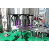 Wholesale Touch Rotary Juice Filling Machine 18 Heads 4.5KW Stainless Steel from china suppliers