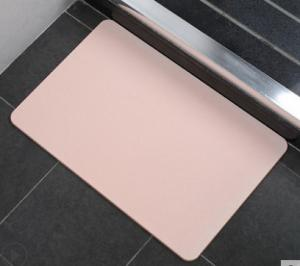 Wholesale Customizable 24x38 Inch Diatomite Bath Mat Pet Friendly from china suppliers