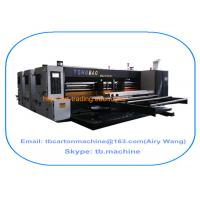 Wholesale 2016 new design modern hotselling 2400*3800mm big size 2 color flexo printing slotting carton machine from china suppliers