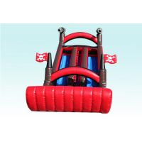 Wholesale Red and Black Corsair Large Inflatable Slide With Cannon EN14960 BV CCC from china suppliers