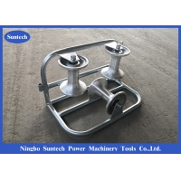 Buy cheap Galvanized Triple Aluminum ISO Cable Corner Roller from wholesalers