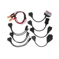 Safe Car OBD Cable / Truck Diagnostic Cables Right Angle 16 PIN Male And Female Connector