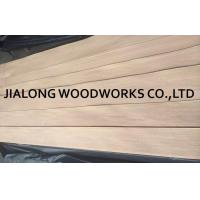 Buy cheap Quarter Cut Natural Red Oak Veneer Sheets 2.5m Length For Plywood from wholesalers
