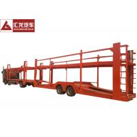 China New Design Vehicle Transport Trailer Highly Reliable 2 Axles With Cummins Engine on sale
