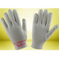 Wholesale Custom Cotton Beauty Gloves , Hand Moisturizing Gloves No Fluorescent Whitening from china suppliers