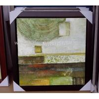 China Framed Acrylic Abstract Art Canvas Paintings Modern Wall Pieces For Living Room on sale
