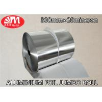 Wholesale Heavy Duty 8011 Aluminium Foil Jumbo Roll 30cm Width 20 Micron Thickness from china suppliers