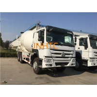 Wholesale HW76 Cabin Mercedes Concrete Mixer Truck With Throttle Control from china suppliers
