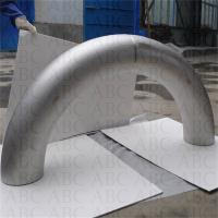 Wholesale titanium elbow and bent pipe fitting/small pipe bender/titanium exhaust bends from china suppliers