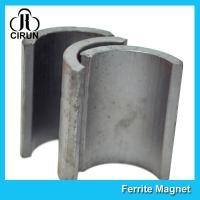 Wholesale Industrial Ferrite Arc Magnet For Treadmill Motor / Water Pumps / Dc Motor from china suppliers