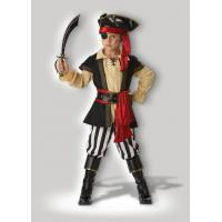 wholesale pirate cosplays scoundrel teen boy halloween costumes black red from china suppliers