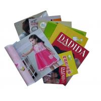 Wholesale Children garment  embossing, spot UV, die cut CMYK color Custom Magazine Printing from china suppliers