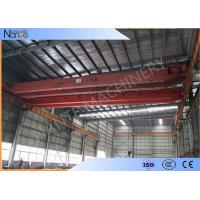 Buy cheap 16t Electric Traveling Double Girder Overhead Cranes For Repair Shops from wholesalers