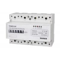 China Three Phase Din Rail KWH Meter , electronic Active Digital Energy Meter on sale