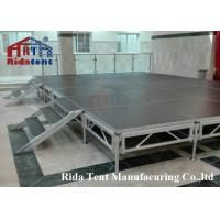 Buy cheap Durable Outdoor Concert Stage / Mobile Aluminum Folding Stage Lightweight from wholesalers