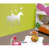 Buy cheap CM-106 Silver Removable Acrylic Wall Mirror Sticker for Kid's Room Decoration from wholesalers