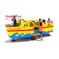 Wholesale Huadong Plastic Play Equipment , Economical Play Ground Set Different Playing from china suppliers