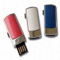Wholesale Multifunction USB Flash Drives with 128MB to 32GB Capacity and 1,000,000 Times Data Encryption from china suppliers