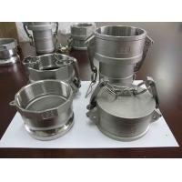 Buy cheap Stainless Steel camlock couping investment casting from wholesalers